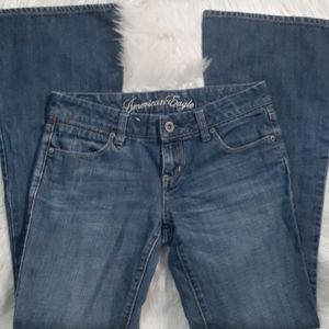 American Eagle Real Flare Jeans size 2